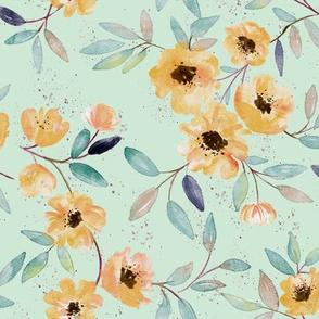 peach_flowers_blue_bg