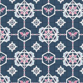Symmetric geometric nature