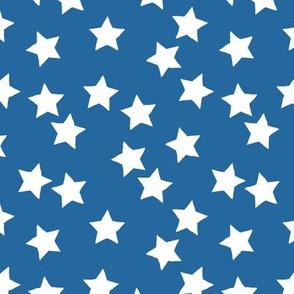 Little minimalist stars sparkles sky sweet dreams abstract boho nursery design classic blue usa american flag