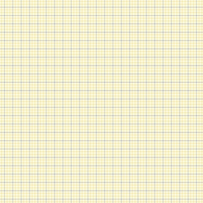 blue _ Yellow plaid