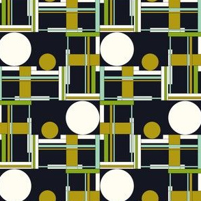 Geometric in multi with white