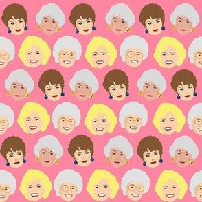 Golden Girls on Pink
