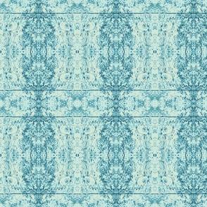 Blue soft Damask