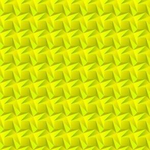 Yellow origami