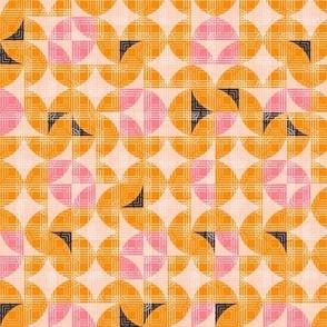 Geometric Small Scale Orange