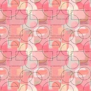 Blush Pink Geometric