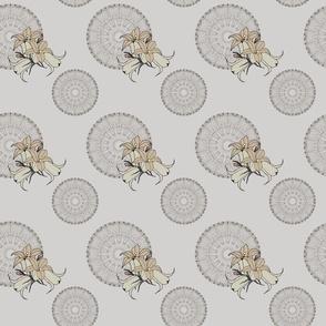 Kaleidoscope and lilies