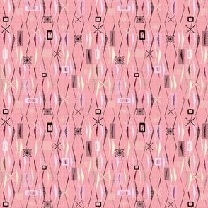 geometric pinks