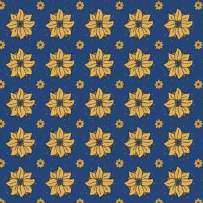 doodle_flower_yellow_blue