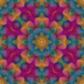 soft flower tile