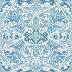 Paisley Geometry Blues
