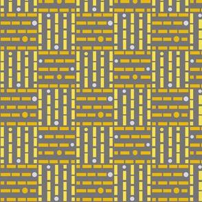 Basket Weave yellow