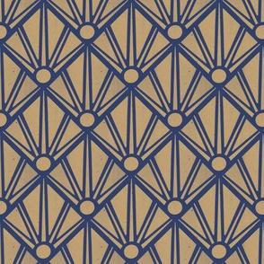 Geometric printed rays
