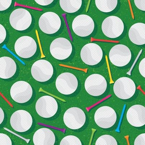Golf Balls & Tees (Small Scale)