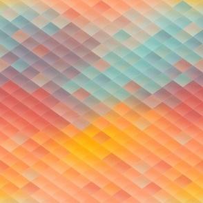 Geometric Rainbow Diamonds smaller