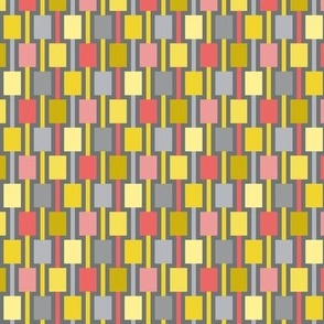 geometric weaving pattern