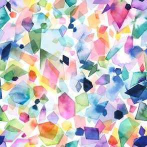 Colorful geometric crystals Small