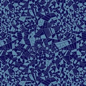 "Reconnect (12"") - blue"