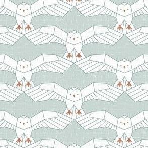 Snowy Owl Geo - Medium Scale
