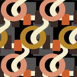 Ribbons & Circles - Large