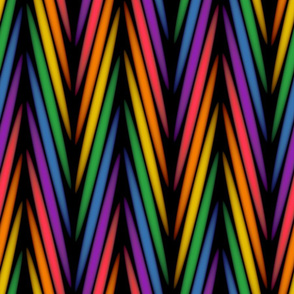 Moving Rainbow Braid//Large Scale