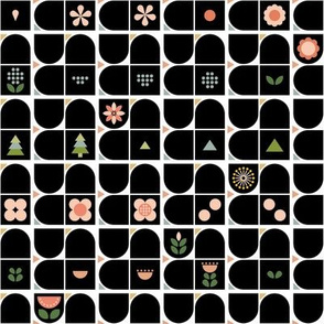 Small-Scaled Geometric Flowers