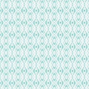 Lace Diamonds-Aqua