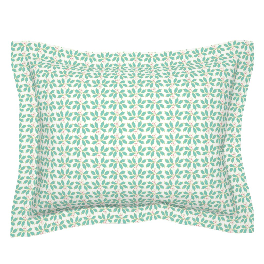 Sebright Pillow Sham featuring Holly by cindylindgren