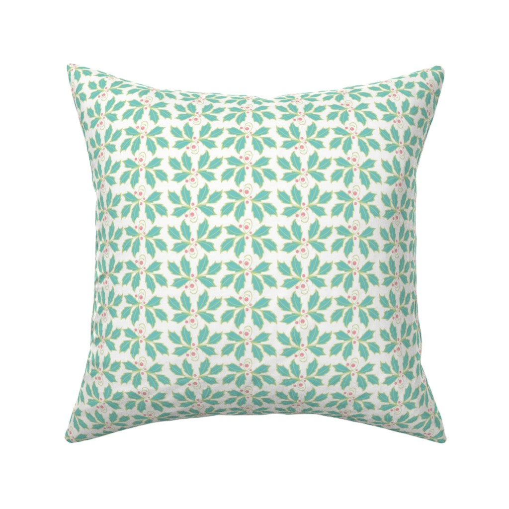 Catalan Throw Pillow featuring Holly by cindylindgren