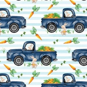 Light Blue Stripe 2021 Bunny Truck