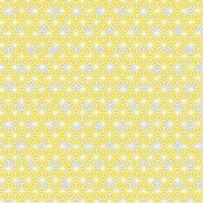Yellow-Grey shibori