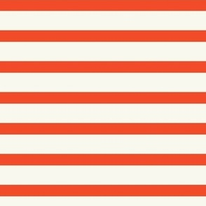 Stripes - Red - Off White - ROTATED