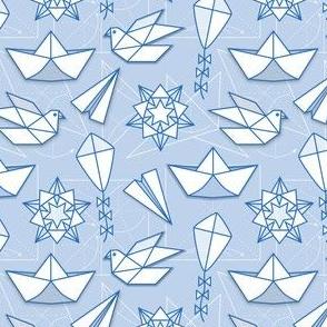 Small_Scale_Geometric_Origami_Elements_Seaml_Stock