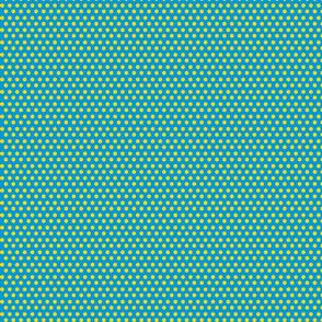 small yellow hexagons