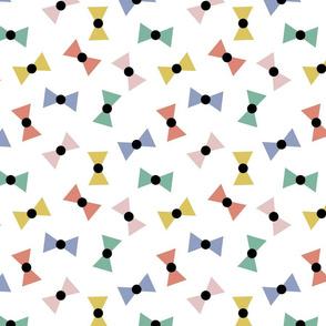 """Bows Multi Colour -  Small 8"""""""