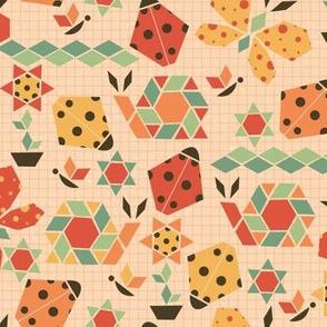 bugs small scale geometric