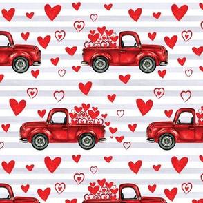 gray stripe valentine trucks