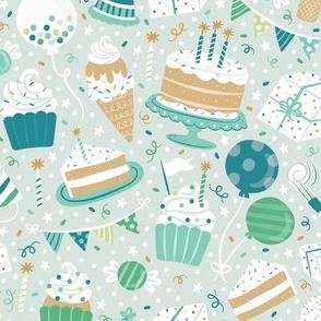 Birthday Bash Blue