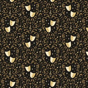 Theater Damask (Extra Small)