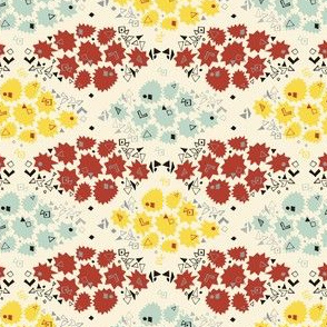 GeoBabe Flower Garden