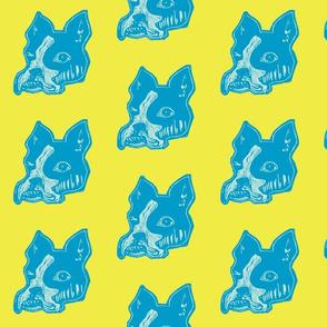 blue/yellow chucky