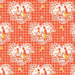 Tangerine Tandem Picnic