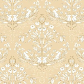 WildWood Damask Solid - beige