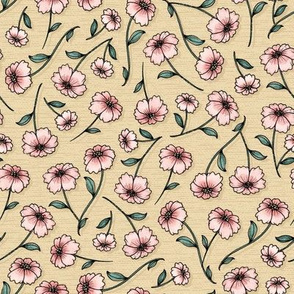 WildWood Floral - beige