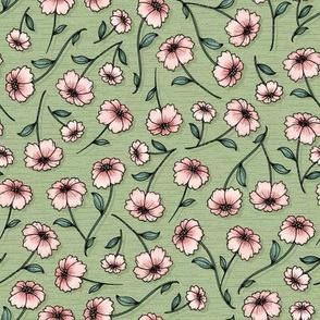 WildWood Floral - sage