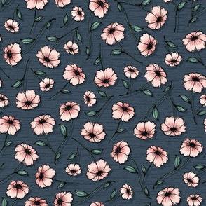 WildWood Floral - slate