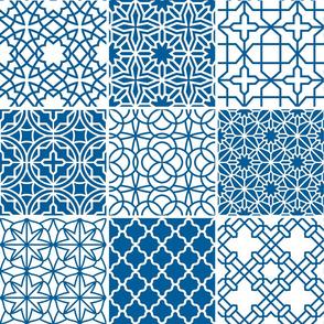 Blue Moroccan Tiles