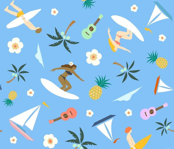 the hidden hawaii seamless pattern_spoonflower-01