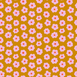 Small Flowers Mustard