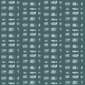Preston Abstract Stripe-Teal and White (medium scale)